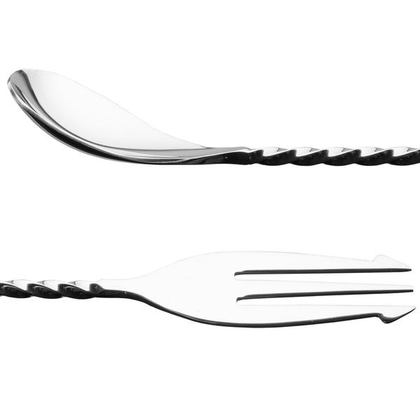 Sokichi - Spiral Bar Spoon and Fork - MAN of the WORLD Online Destination for Men's Lifestyle - 2
