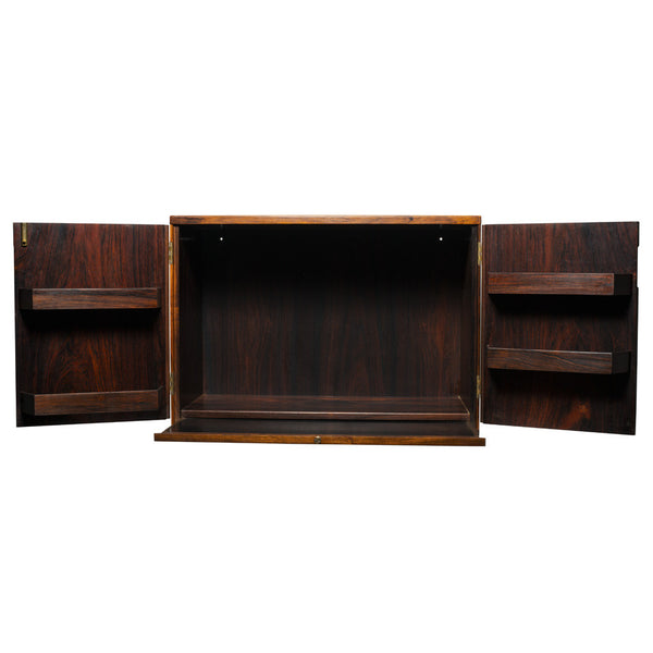 VINTAGE - Rosewood Wall Mounted Cabinet - MAN of the WORLD Online Destination for Men's Lifestyle - 2