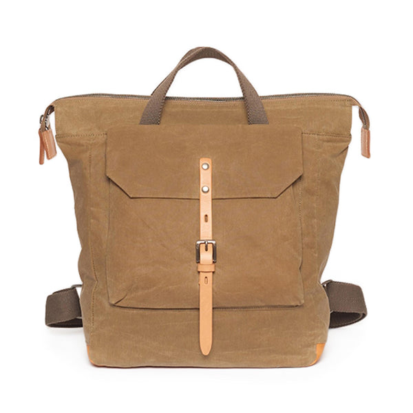 Frances Waxed Small Rucksack