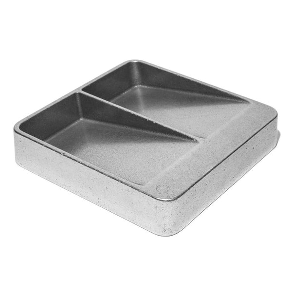 HENRY WILSON - Aluminum Double Sided Catchall - MAN of the WORLD Online Destination for Men's Lifestyle - 1
