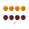 MAN OF THE WORLD - American Bocce Set - Dark Red & Gold - MAN of the WORLD Online Destination for Men's Lifestyle - 9