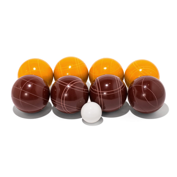 MAN OF THE WORLD - American Bocce Set - Dark Red & Gold - MAN of the WORLD Online Destination for Men's Lifestyle - 1