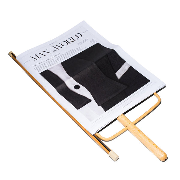 Aubock - Beech Wood Magazine Holder - MAN of the WORLD Online Destination for Men's Lifestyle - 4