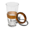 Aubock - Mid Century Modern Rattan Drinking Glasses - MAN of the WORLD Online Destination for Men's Lifestyle - 4