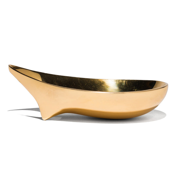 Polished Brass Ashtray - 15 cm