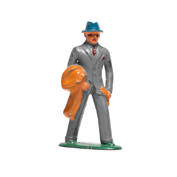 Suited Figurine