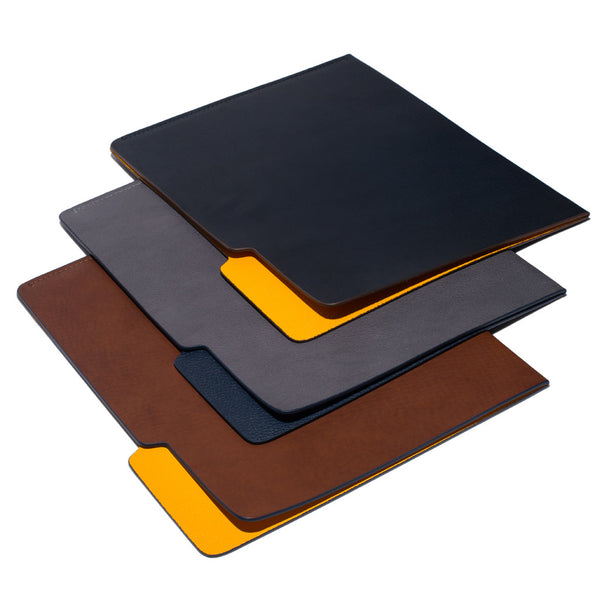 MAN OF THE WORLD - Leather Folder - Brown & Yellow - MAN of the WORLD Online Destination for Men's Lifestyle - 6