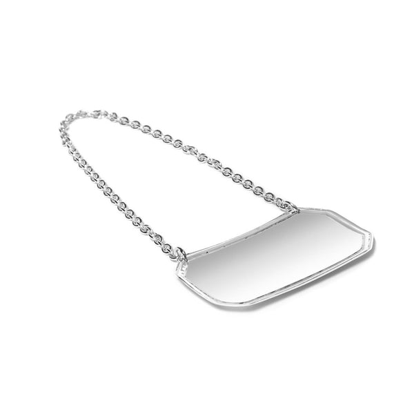 Carrs Silver - Sterling Silver Decanter Tag - MAN of the WORLD Online Destination for Men's Lifestyle - 2