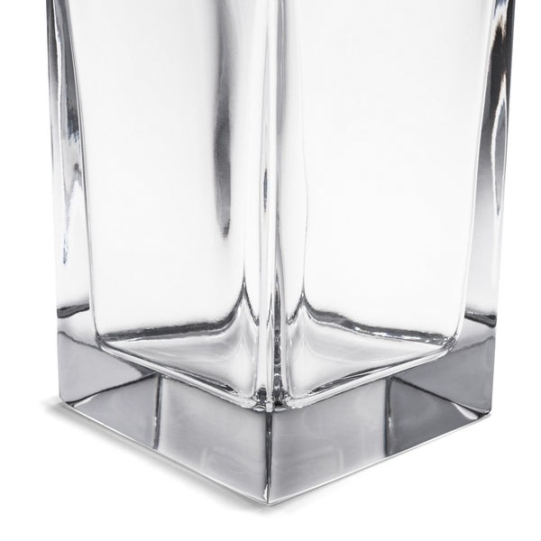 Carrs Silver - Square Crystal & Silver Decanter - MAN of the WORLD Online Destination for Men's Lifestyle - 5
