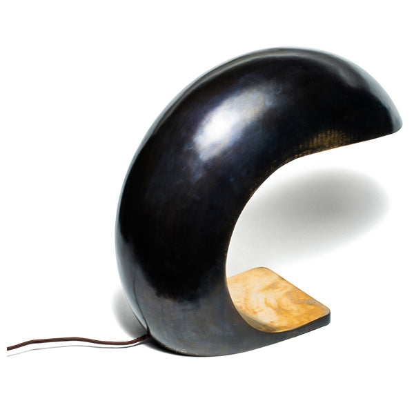 Christopher Kreilig - Bronze Nautilus Study Table Lamp - MAN of the WORLD Online Destination for Men's Lifestyle - 2