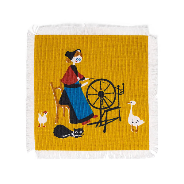 Aase and Preben Jangaard - Danish Napkin Coaster - MAN of the WORLD Online Destination for Men's Lifestyle - 4
