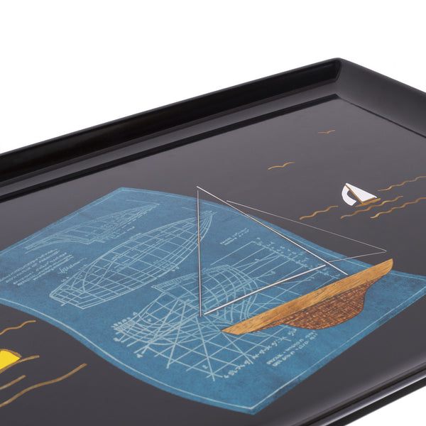Couroc - Sailboat Inlay Tray - MAN of the WORLD Online Destination for Men's Lifestyle - 3