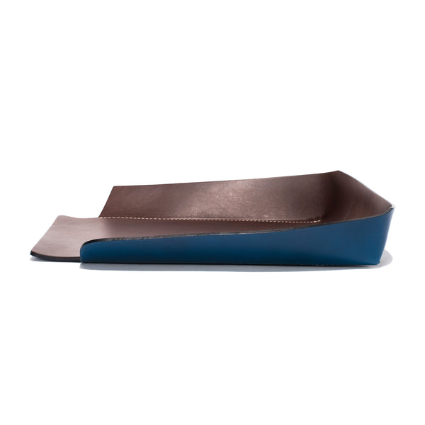 Oscar Maschera - Leather In & Out Tray - Blue - MAN of the WORLD Online Destination for Men's Lifestyle - 3
