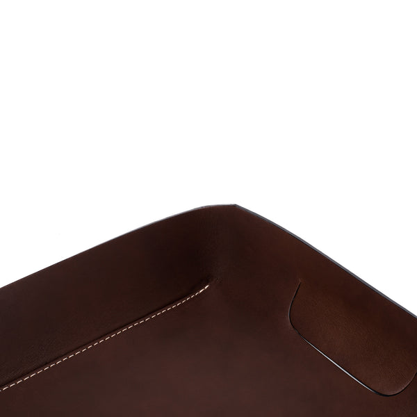 Oscar Maschera - Leather In & Out Tray - Blue - MAN of the WORLD Online Destination for Men's Lifestyle - 4