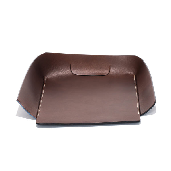 Oscar Maschera - Leather In & Out Tray - Blue - MAN of the WORLD Online Destination for Men's Lifestyle - 2