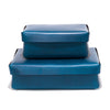 Leather Rectangular Boxes - Blue