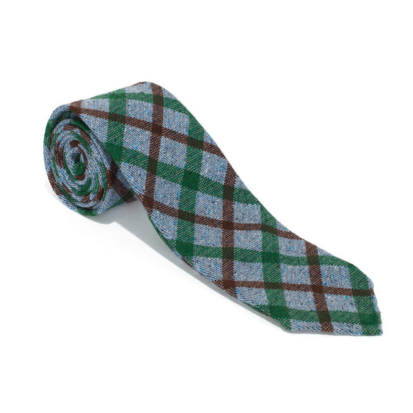 Hand Rolled Silk Printed Tie