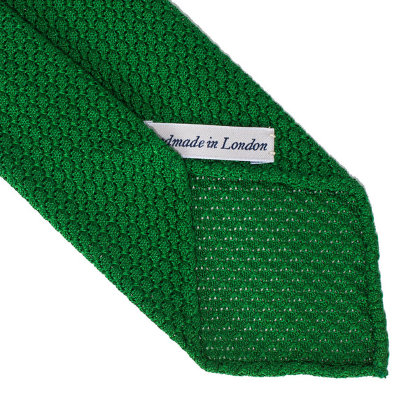 Drake's - Silk Woven Grenadine Tie - Green - MAN of the WORLD Online Destination for Men's Lifestyle - 3