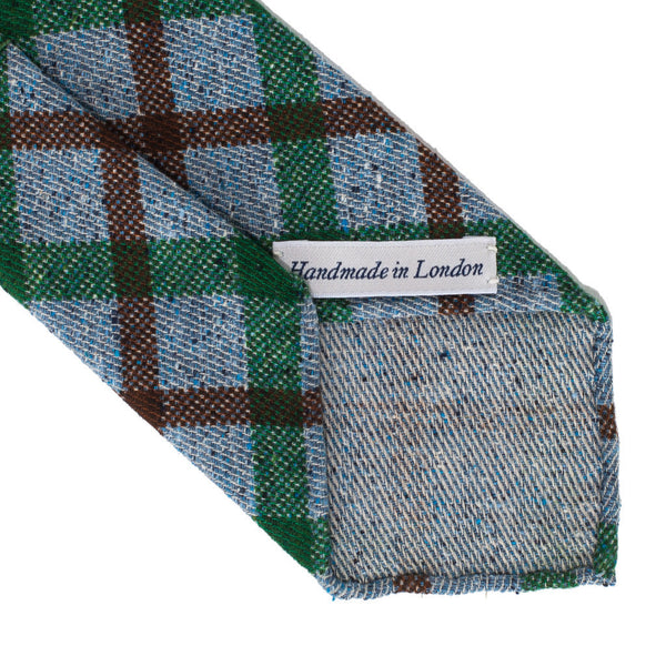 Drake's - Hand Rolled Silk Printed Tie - MAN of the WORLD Online Destination for Men's Lifestyle - 3