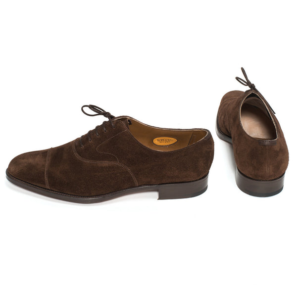 Chelsea Oxford - Mink Suede