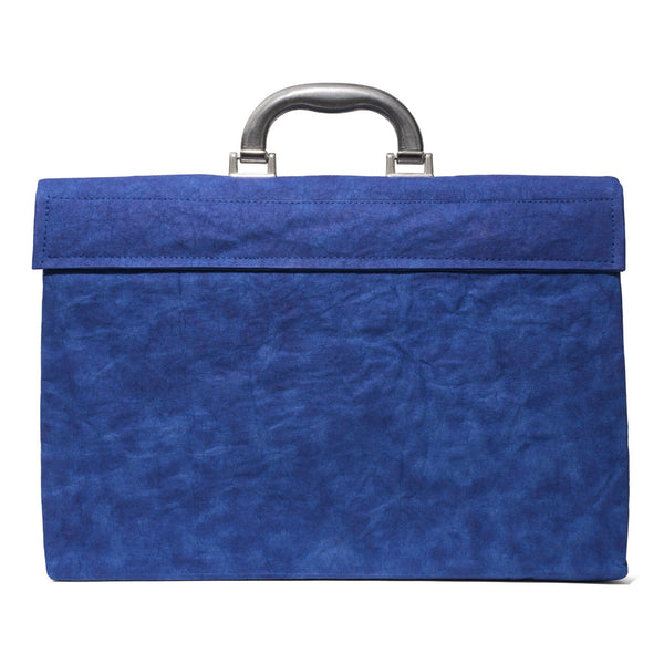 Esssēnt'ial - Cellulose Fiber Briefcase Blue - MAN of the WORLD Online Destination for Men's Lifestyle - 4