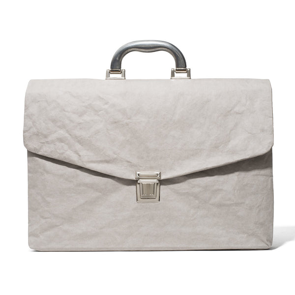 Cellulose Fiber Briefcase - Grey