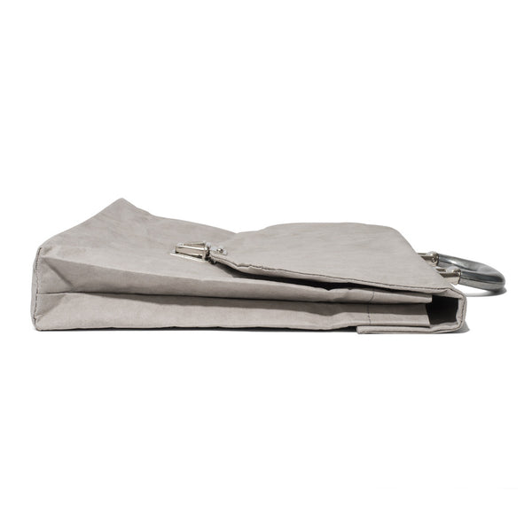Esssēnt'ial - Cellulose Fiber Briefcase Grey - MAN of the WORLD Online Destination for Men's Lifestyle - 6