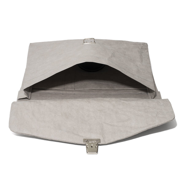 Esssēnt'ial - Cellulose Fiber Briefcase Grey - MAN of the WORLD Online Destination for Men's Lifestyle - 7