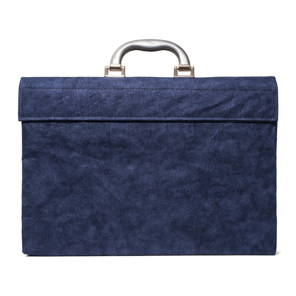 Esssēnt'ial - Cellulose Fiber Briefcase Navy - MAN of the WORLD Online Destination for Men's Lifestyle - 4