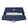 Esssēnt'ial - Cellulose Fiber Briefcase Navy - MAN of the WORLD Online Destination for Men's Lifestyle - 5