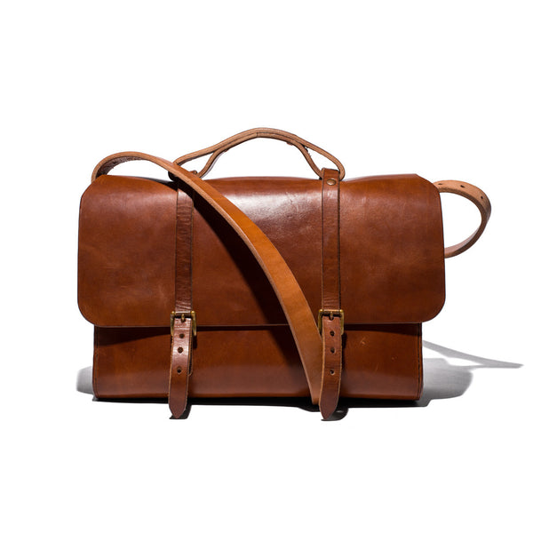 MAN OF THE WORLD - Leather Messenger Brief - MAN of the WORLD Online Destination for Men's Lifestyle - 1