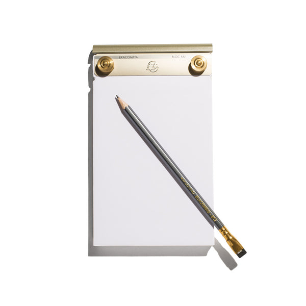 French FAF Refillable Note Pad