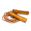 Excellerator - Wooden Handle Leather Jump Rope - MAN of the WORLD Online Destination for Men's Lifestyle - 1