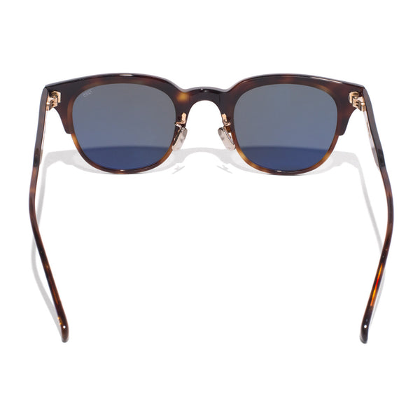Eyevan 7285 - Acetate Clubmaster Sunglasses - Tobacco - MAN of the WORLD Online Destination for Men's Lifestyle - 4
