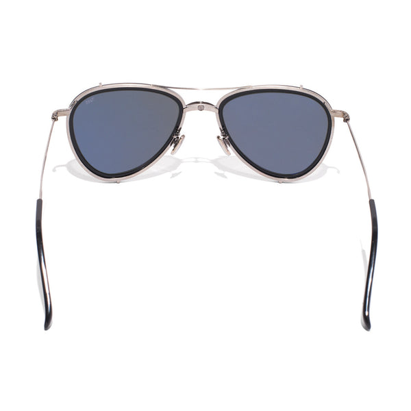 Eyevan 7285 - Metal & Acetate Aviator Sunglasses - Black - MAN of the WORLD Online Destination for Men's Lifestyle - 4