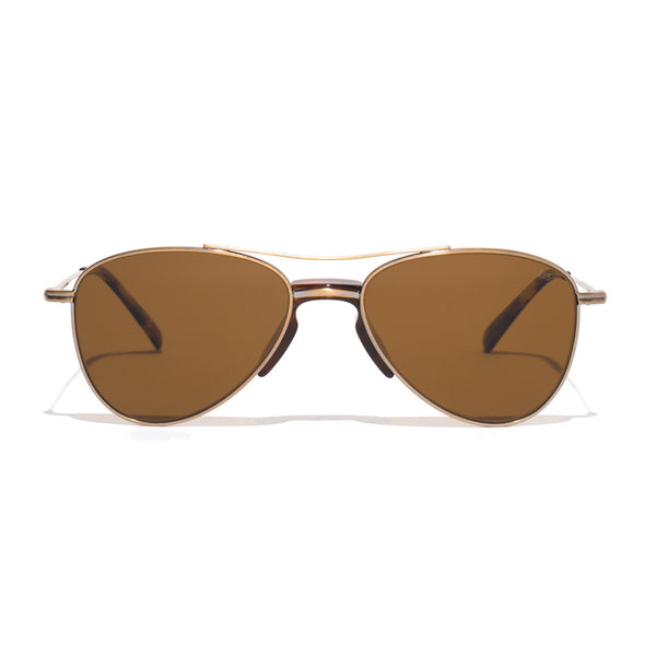 Metal Aviator Sunglass - Gold