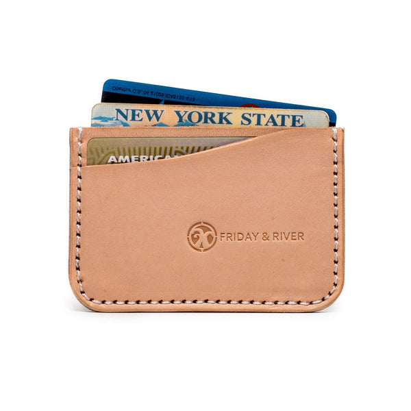Friday & River - Tri-Pocket Card Holder - MAN of the WORLD Online Destination for Men's Lifestyle - 2