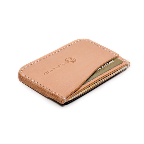 Friday & River - Tri-Pocket Card Holder - MAN of the WORLD Online Destination for Men's Lifestyle - 3