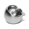 Georg Jensen - Stainless Steel Salt Cellar - MAN of the WORLD Online Destination for Men's Lifestyle - 1