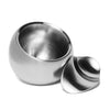 Georg Jensen - Stainless Steel Salt Cellar - MAN of the WORLD Online Destination for Men's Lifestyle - 4