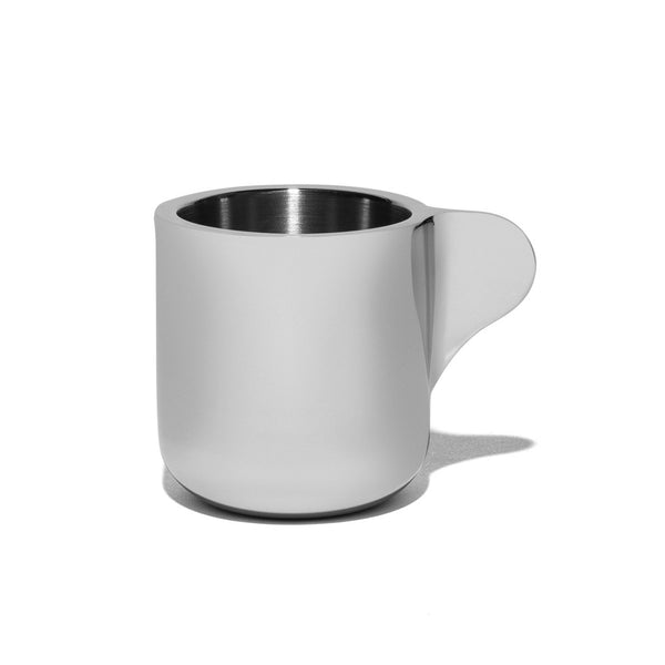 Georg Jensen - Stainless Steel Espresso Cups with Saucers - MAN of the WORLD Online Destination for Men's Lifestyle - 5