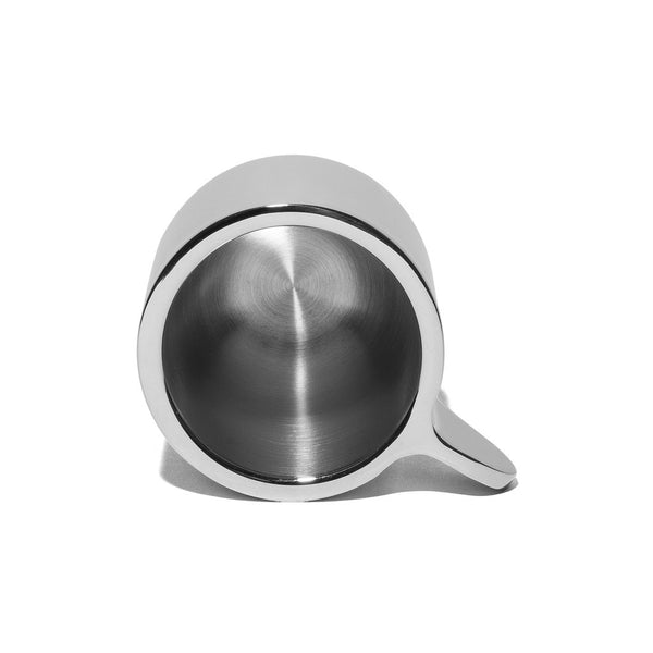 Georg Jensen - Stainless Steel Espresso Cups with Saucers - MAN of the WORLD Online Destination for Men's Lifestyle - 6