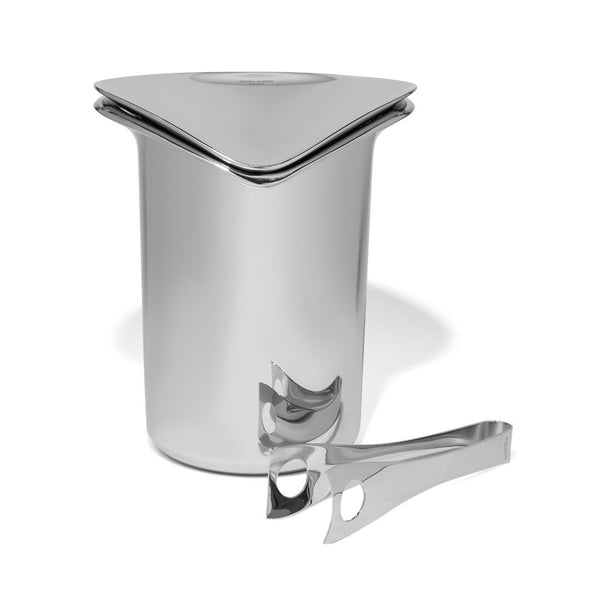 Georg Jensen - Wine Ice Bucket with Tongs - MAN of the WORLD Online Destination for Men's Lifestyle - 1