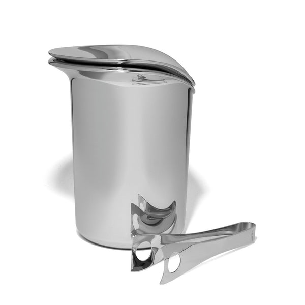 Georg Jensen - Wine Ice Bucket with Tongs - MAN of the WORLD Online Destination for Men's Lifestyle - 2
