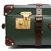 "Globe-Trotter - 26"" Trolly Case - Olive Green & Brass - MAN of the WORLD Online Destination for Men's Lifestyle - 10"