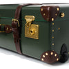 "Globe-Trotter - 26"" Trolly Case - Olive Green & Brass - MAN of the WORLD Online Destination for Men's Lifestyle - 9"