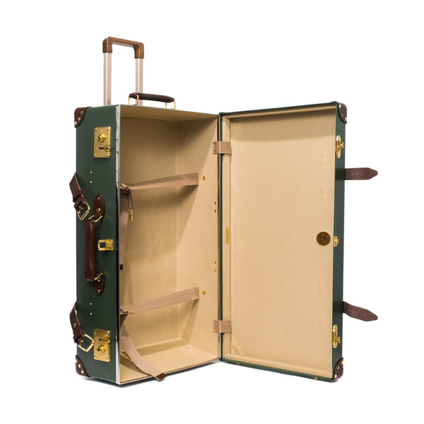"Globe-Trotter - 26"" Trolly Case - Olive Green & Brass - MAN of the WORLD Online Destination for Men's Lifestyle - 2"