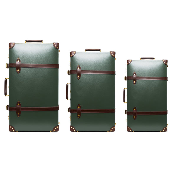 "Globe-Trotter - 26"" Trolly Case - Olive Green & Brass - MAN of the WORLD Online Destination for Men's Lifestyle - 3"