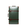 "Globe-Trotter - 26"" Trolly Case - Olive Green & Brass - MAN of the WORLD Online Destination for Men's Lifestyle - 1"