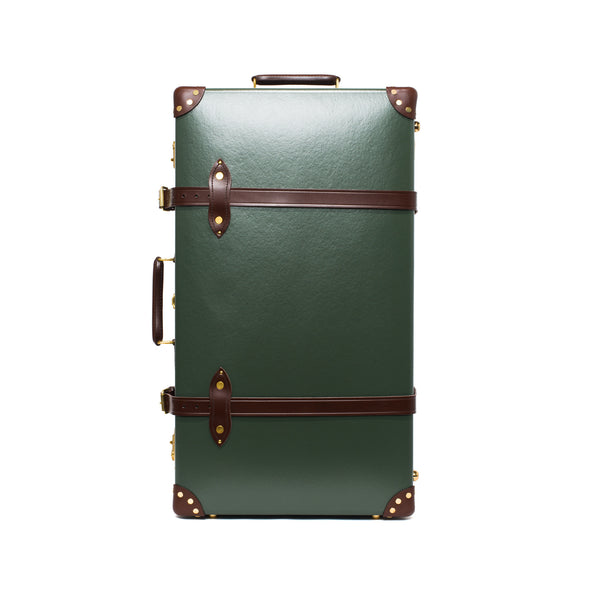 "Globe-Trotter - 26"" Trolly Case - Olive Green & Brass - MAN of the WORLD Online Destination for Men's Lifestyle - 4"